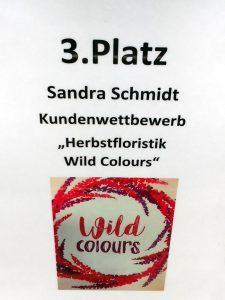 3. Platz für Sandra Schmidt